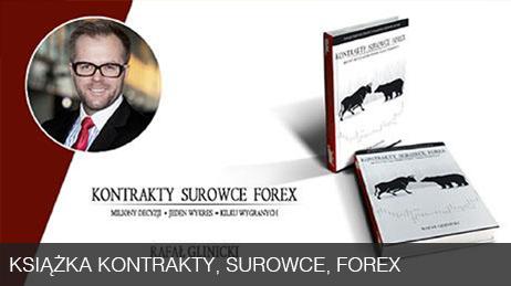 Książka Kontrakty, Surowce, Forex