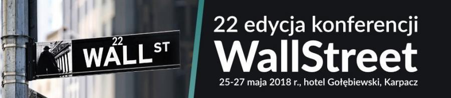 Konferencja Wallstreet 22 Karpacz 25-27 Maja 2018r.